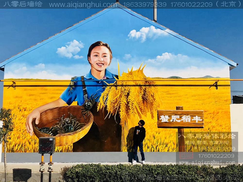 北京乡村振兴文化墙——
